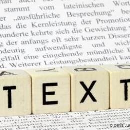 Buchstabenwürfel Textbausteine