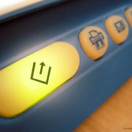 Scanner Leucht-Tastatur