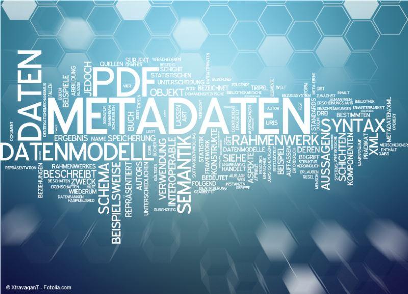 PDF/A Metadaten XMP, RDF & Dublin Core