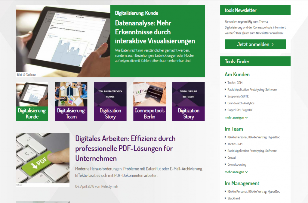 Screenshot toolsmag