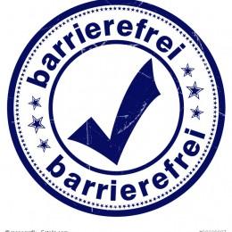 Stempel für Barrierefreiheit