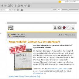 Screenshot HTML Seiten in PDF