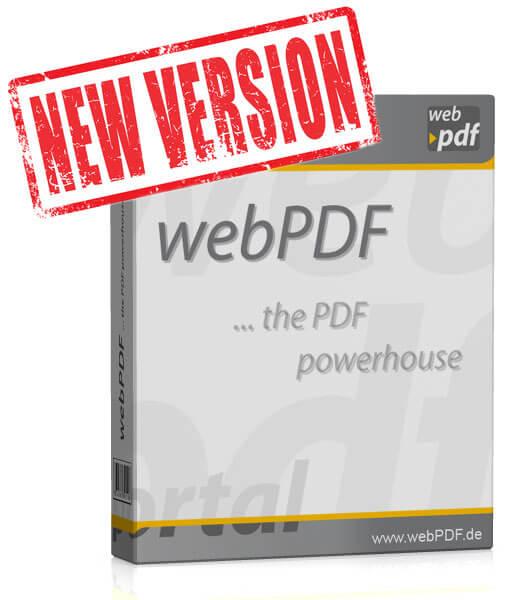 Neues Update von webPDF - Produktbox