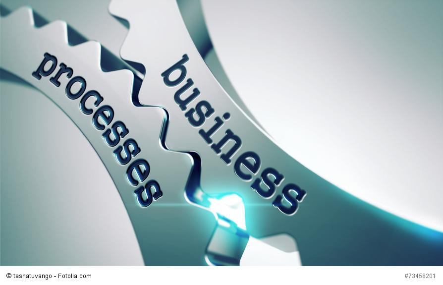 Business Prozesse die ineinandergreifen