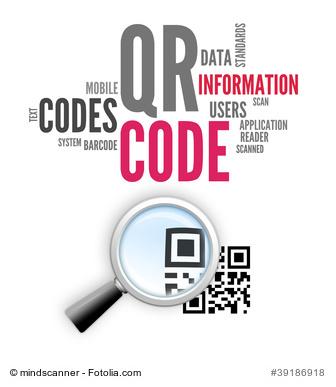 QR Code Abbildung: Barcodes in PDFs