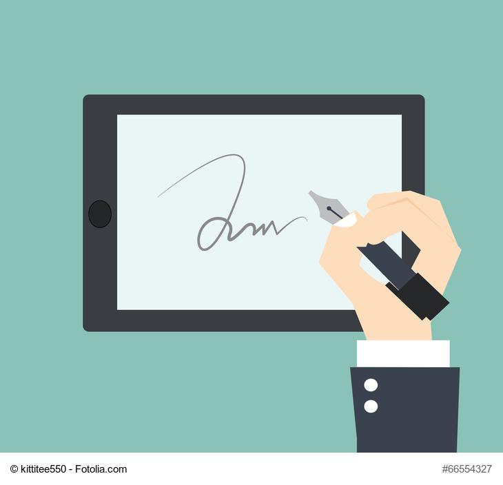 Signatur anfügen