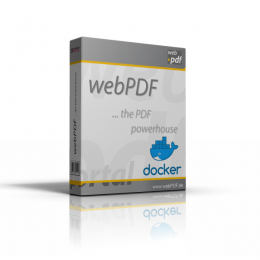 webPDF mit Docker Produktbox