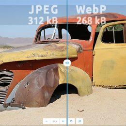 WebP/JPG image comparison